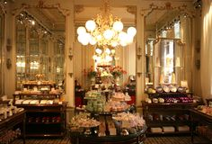 Now this is a CAFÉ! Resolve to go to Vienna and eat your way through Demel's, and the Sacher hotel... Just hit all the dozens of wonderful old cafés!