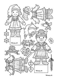 Karen`s Paper Dolls: Astrid