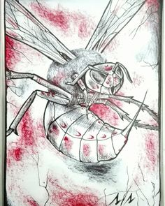 #token #insetto #insect #infect #MagictheGathering ©Elisa Torzoni
