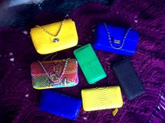 Our new Phyton shoulder bag...wallet...phyton snake original.... #madeForOrder #imatsuryaman@gmail.com