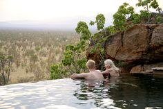 Private House pool, Elsa's Kopje hotel, Kenya  - © Michael Poliza  via @harpertravel #ecoresort