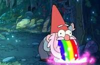 Barfing gnome