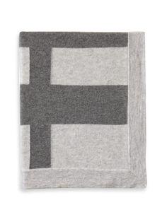 Modern Stripe Throw (cashmere)