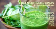 Prevent Night Time Leg Cramps With This High Potassium Juice Recipe - Juicing For Health