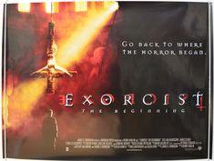 Exorcist : The Beginning - Original Quad Movie Poster