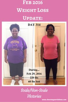 Feb 2016 Weight Loss Update:  Scale/Non-Scale Victories - Another 30 days has passed on my journey of transformation since my January 2016 weight loss update! It's been 314 days since I started my[..]