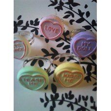 Loveheart Ring made by Fairypants in - Made In Uk, Nespresso, Jewelry Making, Kitchen Appliances, How To Make, Jewellery, Ring, Cooking Ware, Home Appliances