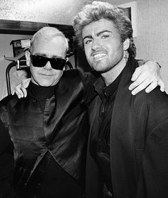 Elton and George