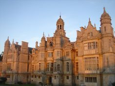 James Saunder, Harlaxton Manor, Lincolnshire, England