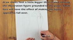 The first of 5 Fashion Illustration Videos.  Drawing the Garment.