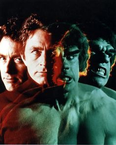 """The Incredible Hulk.  Or """"Honk"""" as I called him.  I was a baby...  But I had good taste already."""