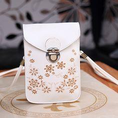 Fashion Rose Women Mini Small Cross Body Bags Cell Phone Bag Bolsas de Marca PU…