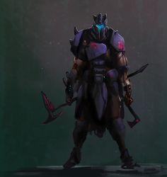 Purger Leader - Concept Art by BacusStudios.deviantart.com on @DeviantArt