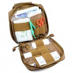 Outdoor Bags  MOLLE EMT First Aid Kit Survival Bag Tactical Multi Medical Kit Utility Tool Belt Pouch -- Cliquez sur l'image pour une description détaillée