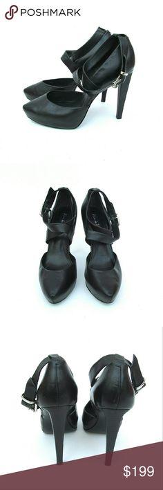 Pour La Victorie Black High Heels Size 9 I offer bundle discounts! Pour la Victoire Shoes Heels