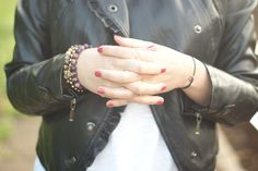 jacket - Mohito tshirt - Cotton On http://millenniumagelifestyle.blogspot.com/2014/05/sporty-glam-rock.html