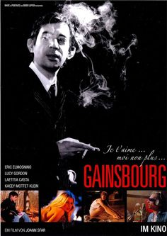 GAINSBOURG - 2010 - JE T AIME MOI NON PLUS - FILMPOSTER A4