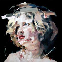 """""""We wont destroy you"""" - 45cm x 45cm - Oil on stretched canvas - Benjamin García"""