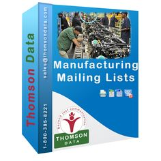 Manufacturing Mailing List - Manufacturing Executives - Manufacturing Professionals