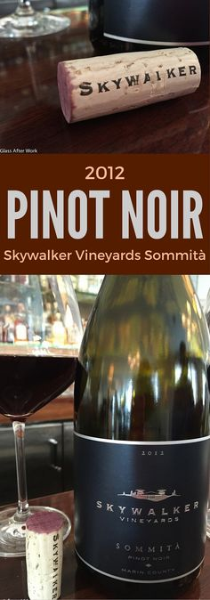 2012 Skywalker Vineyards Sommità – This $42 bottle of red wine from California is a great special occasion wine. It's luscious and complicated, but still approachable and drinkable. It would be great holiday wine, perfect for Thanksgiving or Christmas. Ratings 4.5 out of 5 | AGlassAfterWork.com