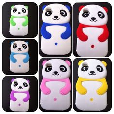 Panda bear iPhone 4G/4S cases New koala iPhone 4G/4S silicon cases. I have 7 colors available. Yellow, light blue, light green, red, pink, blue, & purple. 1 x 8.00 or 2 x 13.00. No trades or Pp thanks Accessories