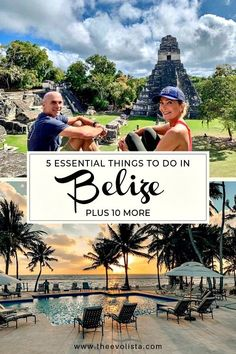 5 Essential Things to Do in Belize Plus 10 More - Don't miss the top 5 things to do in Belize. This list has the ultimate Belize vacation experiences like flying over The Great Blue Hole plus more so you can have the adventure of a lifetime.