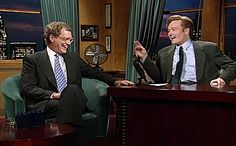 Conan O'Brien sat in front of his computer (or he could have been standing; we weren't there) and summed up with great eloquence and humor the impact that David Letterman has had on late-night TV over the last 33 years, and we printed that essay in the pages of EW.