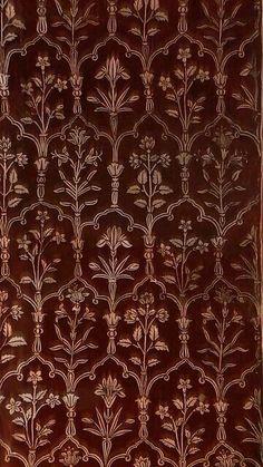 Roof of Naqqar Khana, Taj Mahal early morning. Motifs Textiles, Textile Patterns, Textile Design, Print Patterns, Design Art, Of Wallpaper, Pattern Wallpaper, Taj Mahal, India Pattern