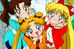 Serena, Mina, and Lita! : D
