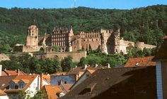 Heidelberg Castle - Germany - LOVE THIS PLACE!