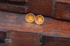 kolczyki - wkrętki - sztyfty - srebro NR 645 - MartaRudnicka - Kolczyki wkrętki