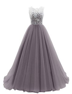 Dresstells Women's Long Tulle Ball Gowns Wedding Dress Evening Formal Party Maxi Dress: Amazon.co.uk: Clothing