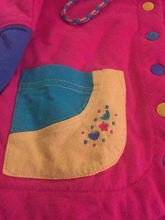 Vintage 1990's Gymboree Color Block Sweatshirt by FlashbackFox