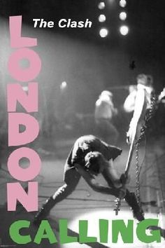 The Clash London Calling Poster