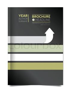 Annual report cover. Flyer cover. Leaflet cover. Presentation cover. Cover text template layout. Vector, vector