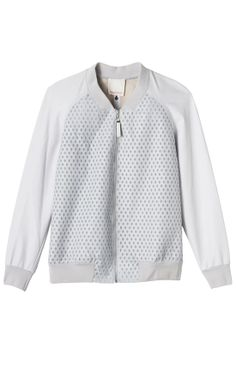 Rebecca Taylor Perforated Leather Jacket