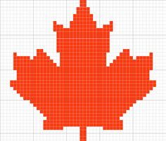 Free Knitting Pattern Canadian Maple Leaf : 1000+ images about Canada Day Ideas on Pinterest Happy canada day, Magnetic...