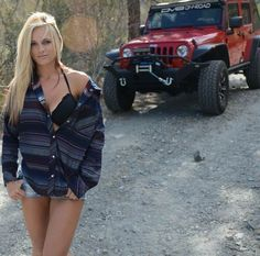 Jeeps and Jeep Girls. Some pics and vids are my personal ones, but most pics are from the net so if its yours or copyrighted let me know and it will be removed. Jeep Jk, Jeep Truck, 4x4 Trucks, Jeep Wrangler Girl, Jeep Wrangler Unlimited, Jeep Wranglers, Wrangler Rubicon, Trucks And Girls, Car Girls