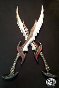 Replica Daedric swords   EEEEEEEEEEEH!