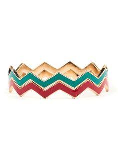 I have the Turquoise Zig Zag Chevron Bracelet and matching ring <3