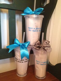 """"""" There's a good chance this could be Vodka"""" tumblers for sale check out Uniquely Crafted on Facebook cheap personalization.   These are only $12.50 each!"""