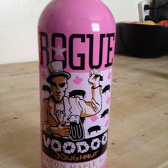 Rogue beer - Voodoo Doughnut tastes like maple syrup and bacon..ewwwww