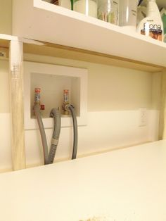 How To Hide Unsightly Hoses And Wires By Framing In The