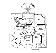 Geyer Victorian Home Plan 071D-0010   House Plans and More