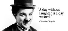 Sareez.com : #Quote of the Day  #CharlieChaplin #Laughter #Quotes  Image : masscovers.com