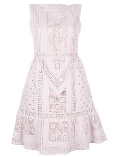 VALENTINO | Lace Panel Dress