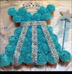 Princess dress cupcake dress