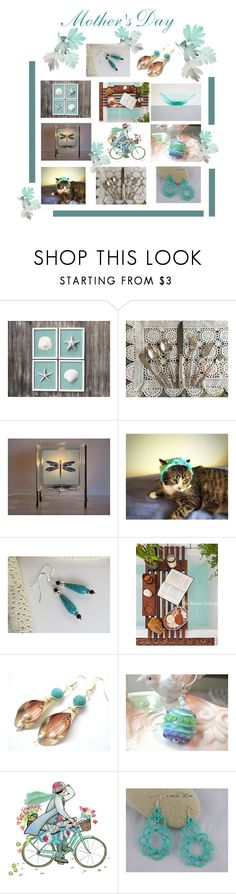 """Turquoise"" by therusticpelican ❤ liked on Polyvore featuring International Silver, modern, contemporary, rustic and vintage"