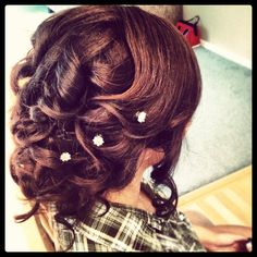 Prom updo by me :)