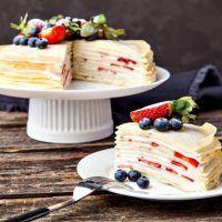 Recept : Svačinový salát z ledového salátu | ReceptyOnLine.cz - kuchařka, recepty a inspirace Vanilla Cake, Pancakes, Breakfast, Desserts, Recipes, Food, Morning Coffee, Tailgate Desserts, Deserts